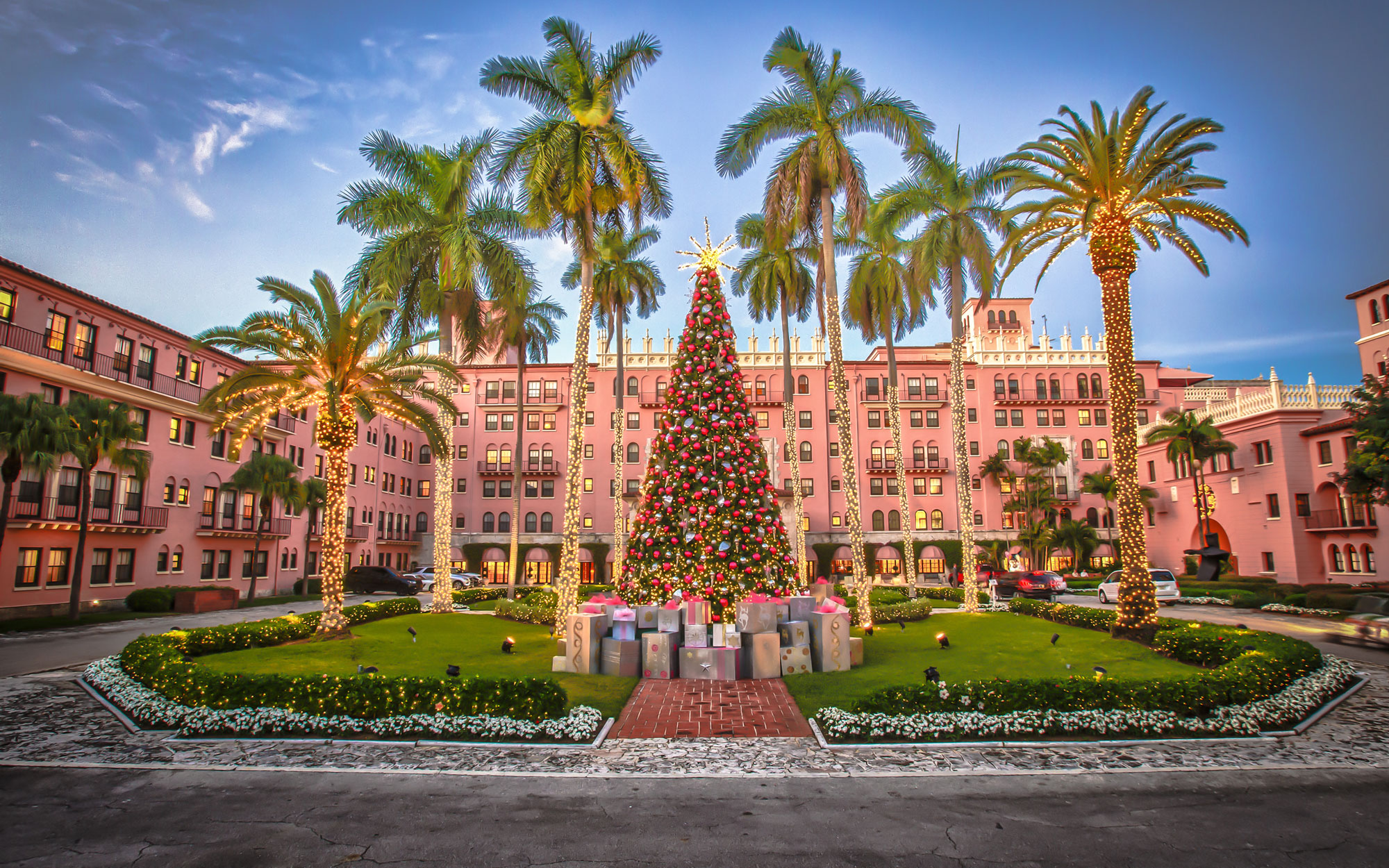 America's Best Hotels for Christmas: Boca Raton Resort & Club, FL