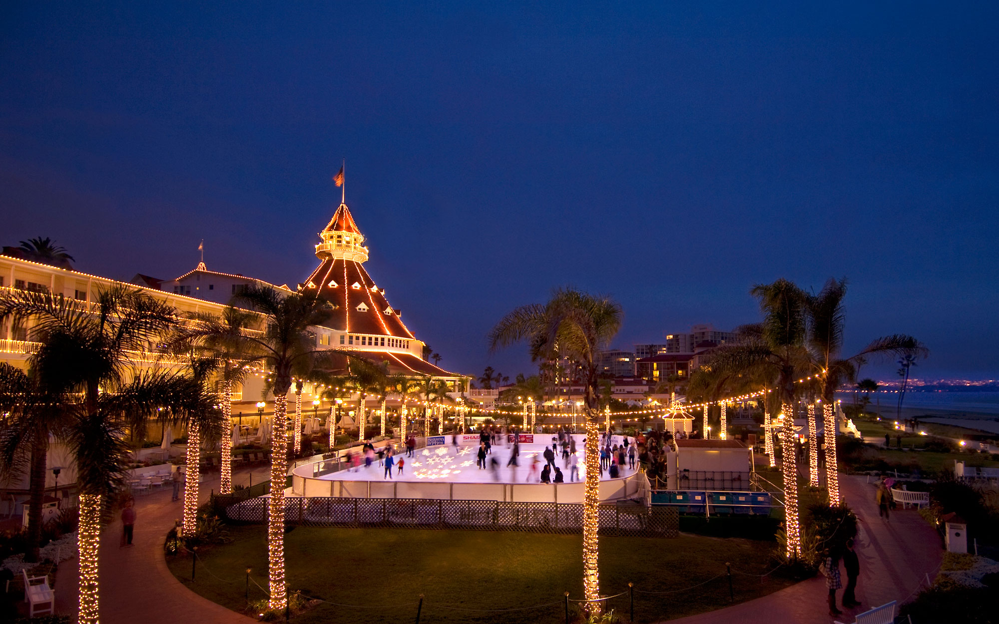 America's Best Hotels for Christmas, Hotel del Coronado, CA