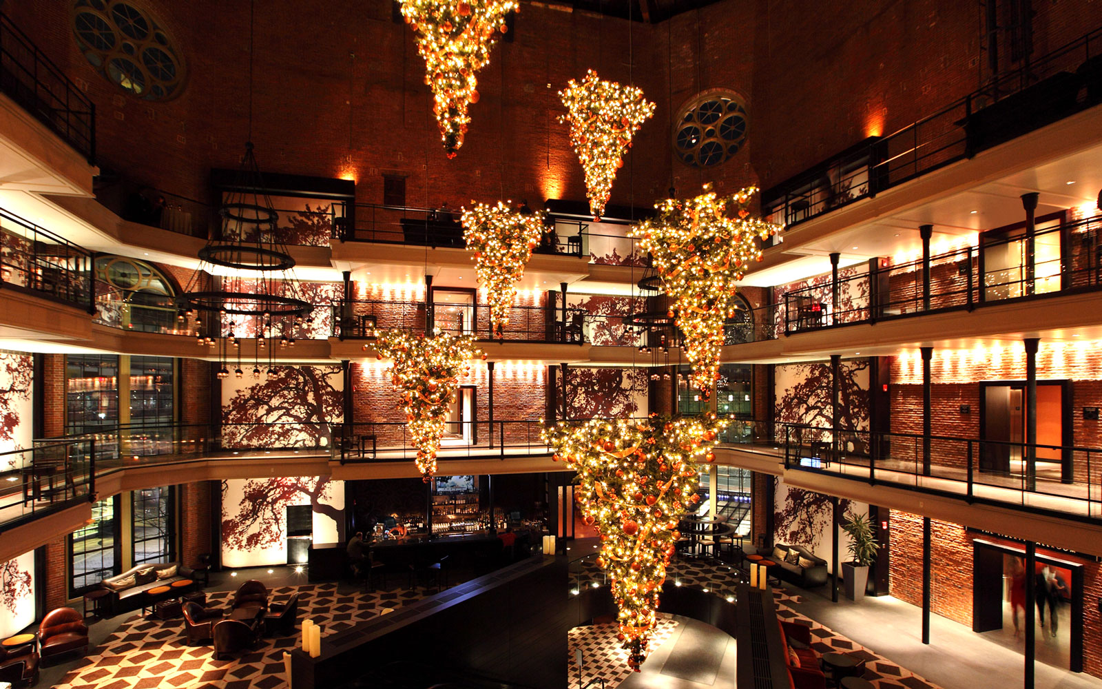 America's Best Hotels for Christmas: The Liberty Hotel, Boston