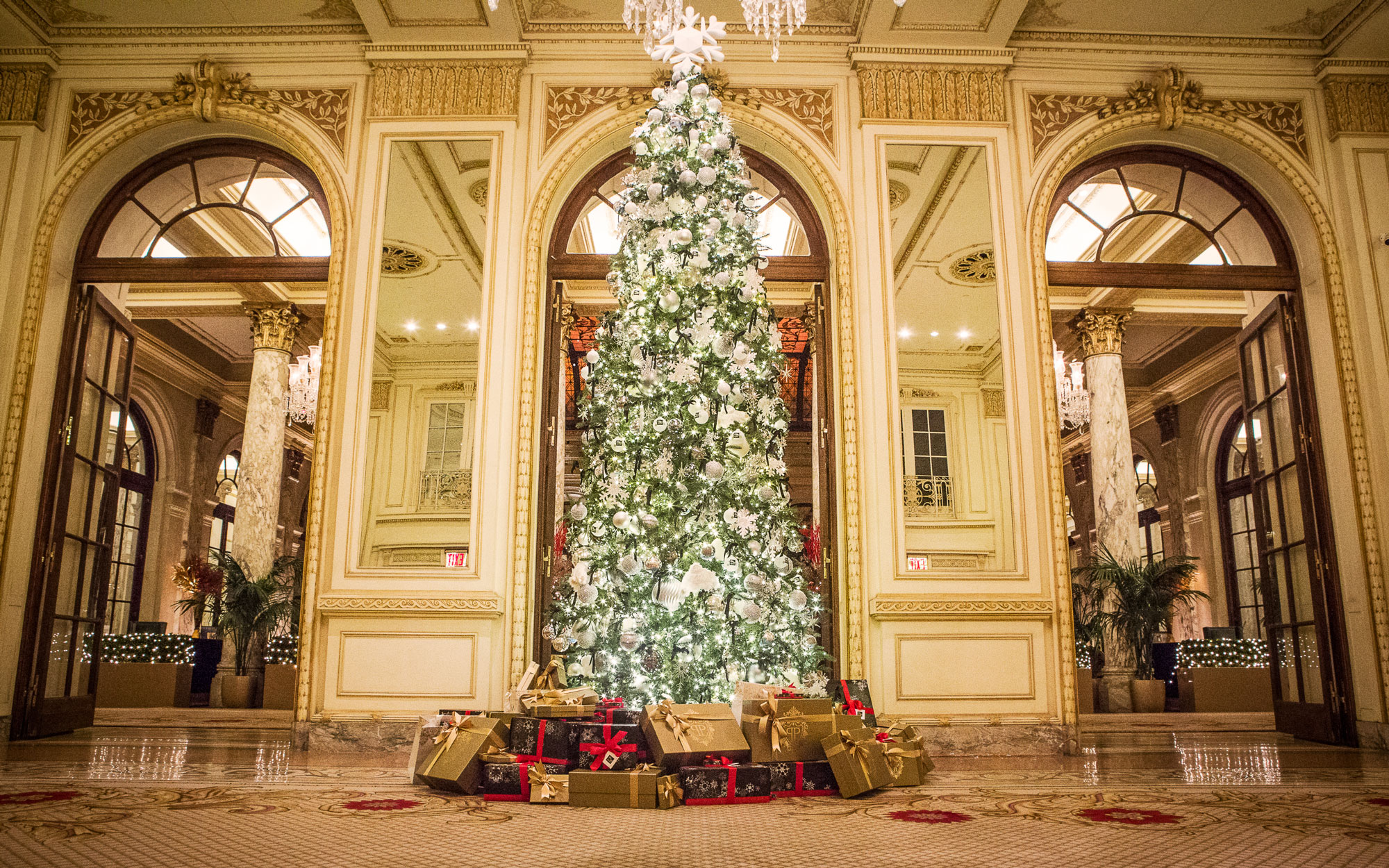 America's Best Hotels for Christmas: The Plaza, New York City