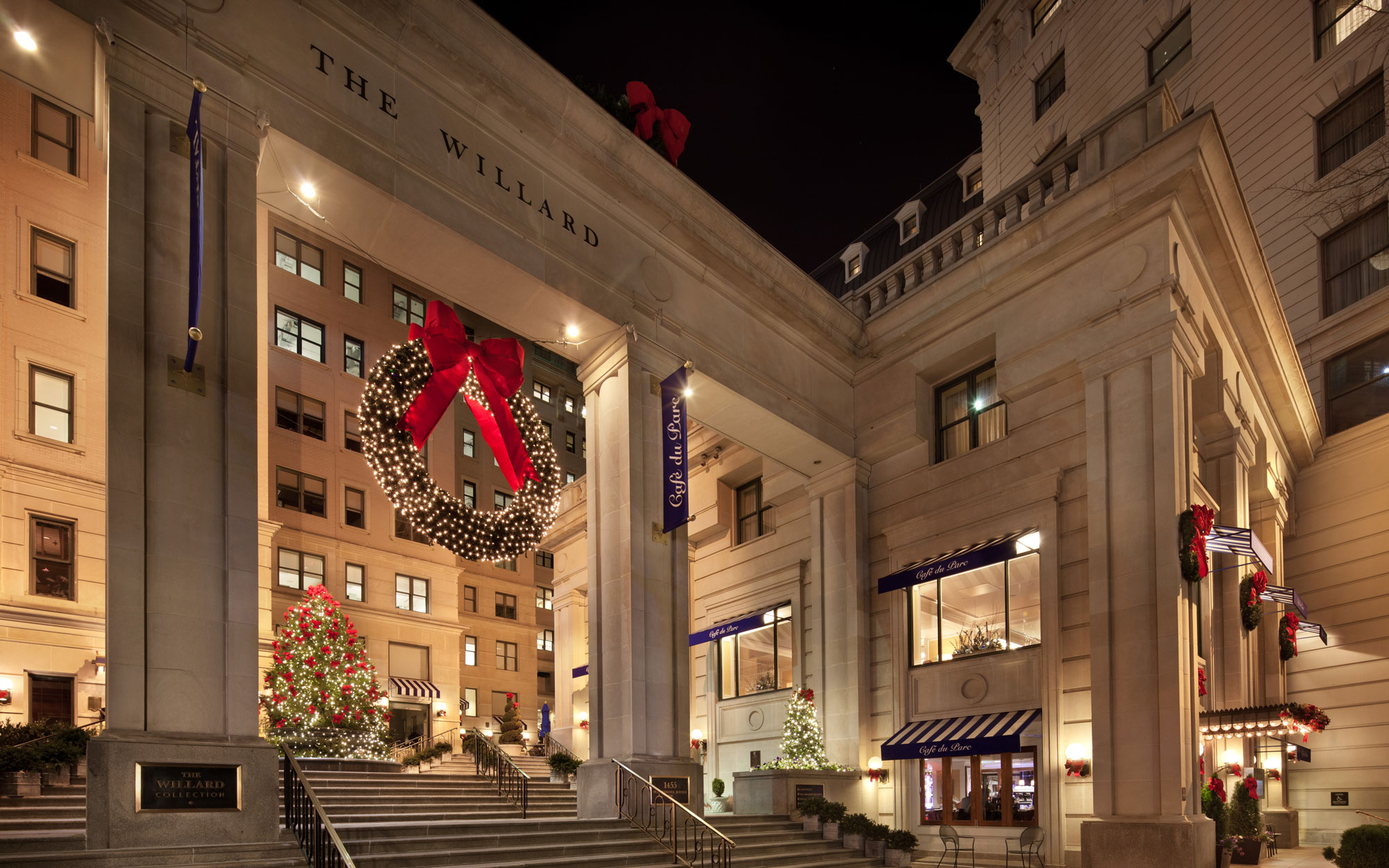 America's Best Hotels for Christmas: Willard InterContinental, Washington, D.C.