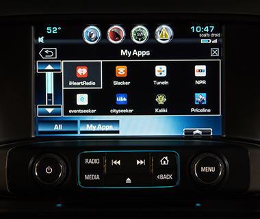 Best New Travel Gadgets for 2014: Chevrolet AppShop