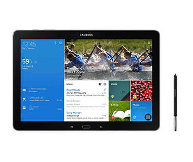 Best New Travel Gadgets for 2014: Samsung Galaxy NotePro 12.2-inch Tablet