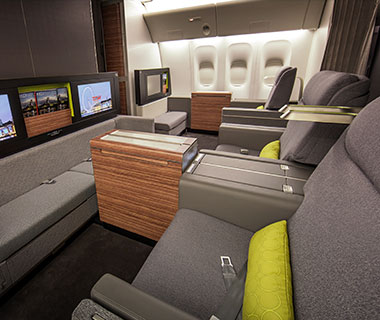 Design Awards: TAM Airlines First Class Cabin