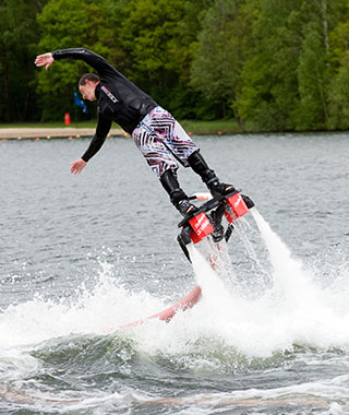 New Tourist Attractions: Flyboarding