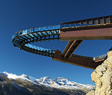 New Tourist Attractions: Glacier Skywalk