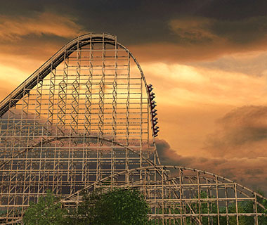 New Tourist Attractions: Goliath Roller Coaster, Six Flags Great America, Chicago