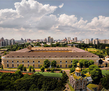 Coolest New Tourist Attractions: Mystetskyi Arsenal, Kiev, Ukraine