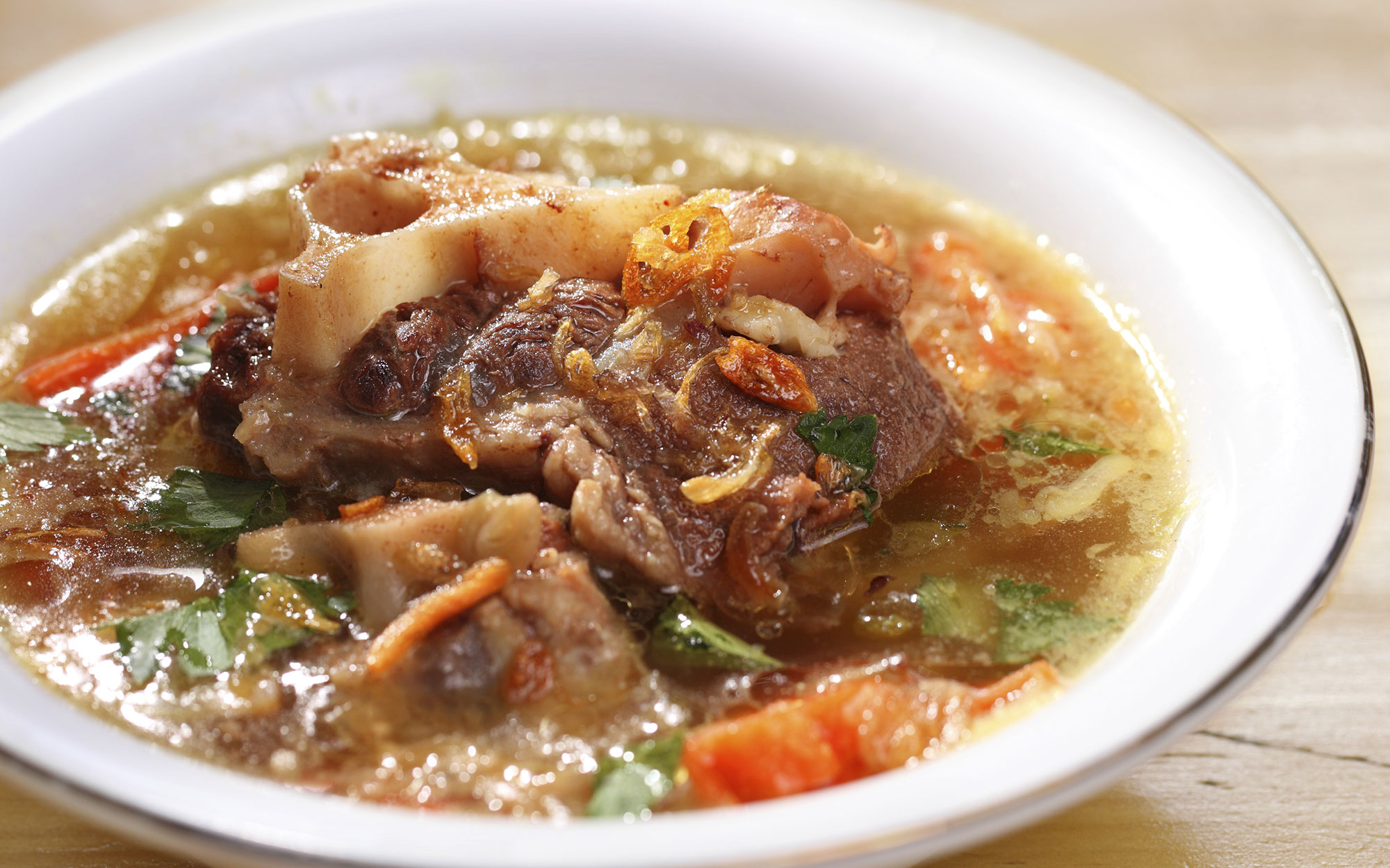 World's Strangest Cold Remedies: Oxtail Soup