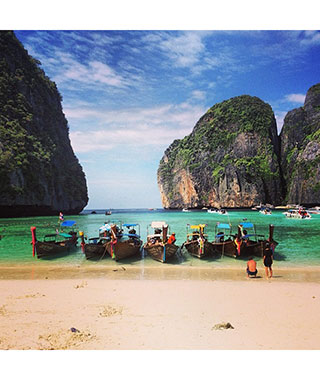 Beautiful Beach Photos: Phi Phi Islands, Thailand