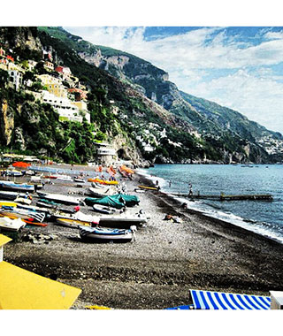 Beautiful Beach Photos: Positano, Italy