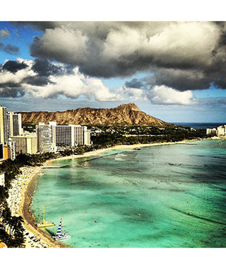 Beautiful Beach Photos: Honolulu
