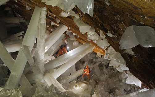World's Coolest Underground Wonders: Cave of the Crystals