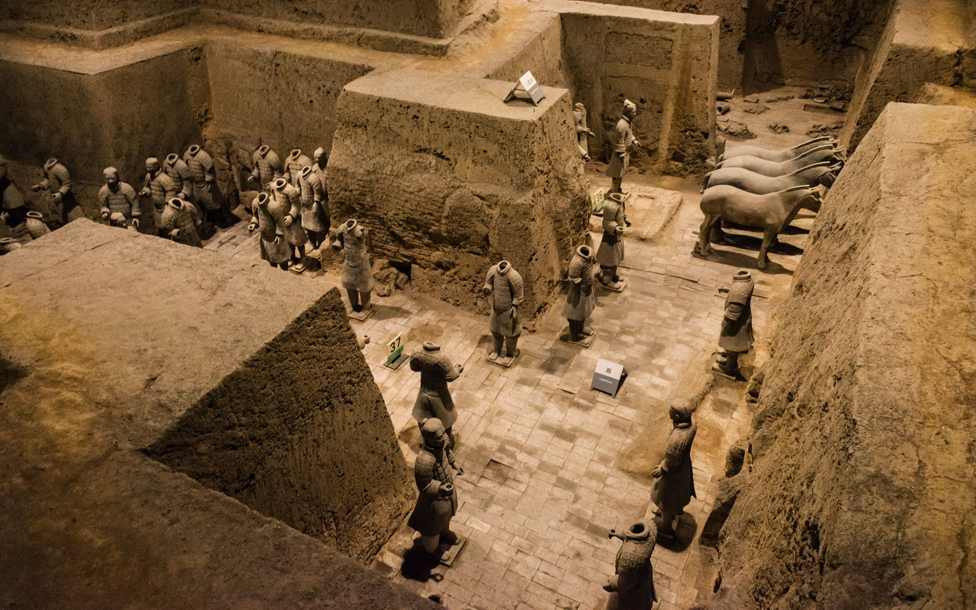 Coolest Underground Wonders: World's Most-Visited Ancient Ruins: Mausoleum of the First Qin Emperor, China