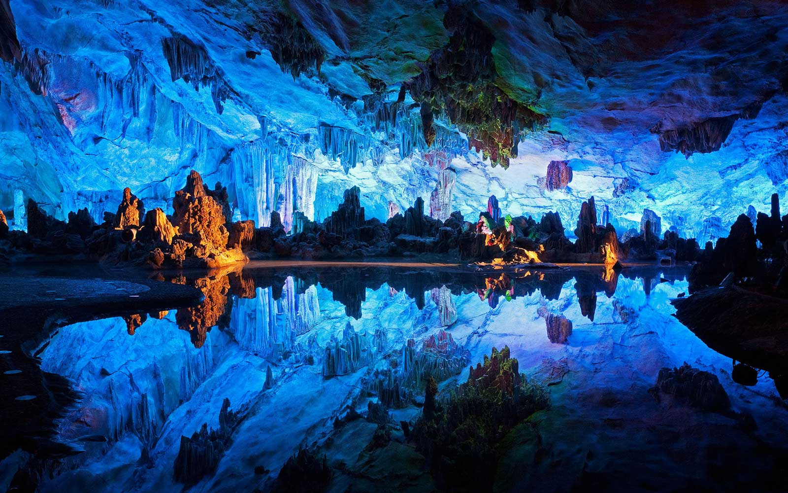 Coolest Underground Wonders: Reed Flute Cave, China