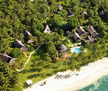 Coolest All-Inclusive Resorts: Dedon Island