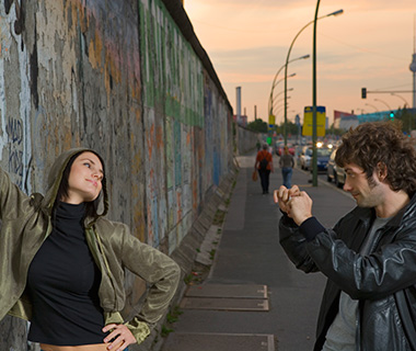 Selfies: 25th Anniversary of the Fall of the Berlin Wall