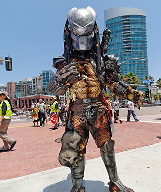 Selfies: Comic-Con International