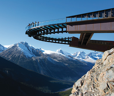 Selfies: Glacier Skywalk
