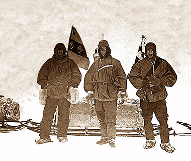 Selfies: 100th Anniversary of Shackleton's Antarctic Expedition