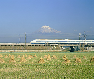 Selfies: 50th Anniversary of the Shinkansen, Japan