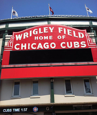 Selfies: 100th Birthday of Wrigley Field, Chicago