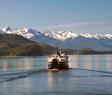 America's Most Scenic Waterside Drives: Alaska Maritime Highway, Alaska