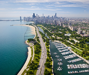 America's Most Scenic Waterside Drives: Lake Shore Drive, Chicago