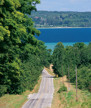 America's Most Scenic Waterside Drives: Leelanau Peninsula Wine Trail, Michigan