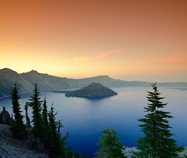 America's Most Scenic Waterside Drives: Crater Lake Rim Drive, Oregon