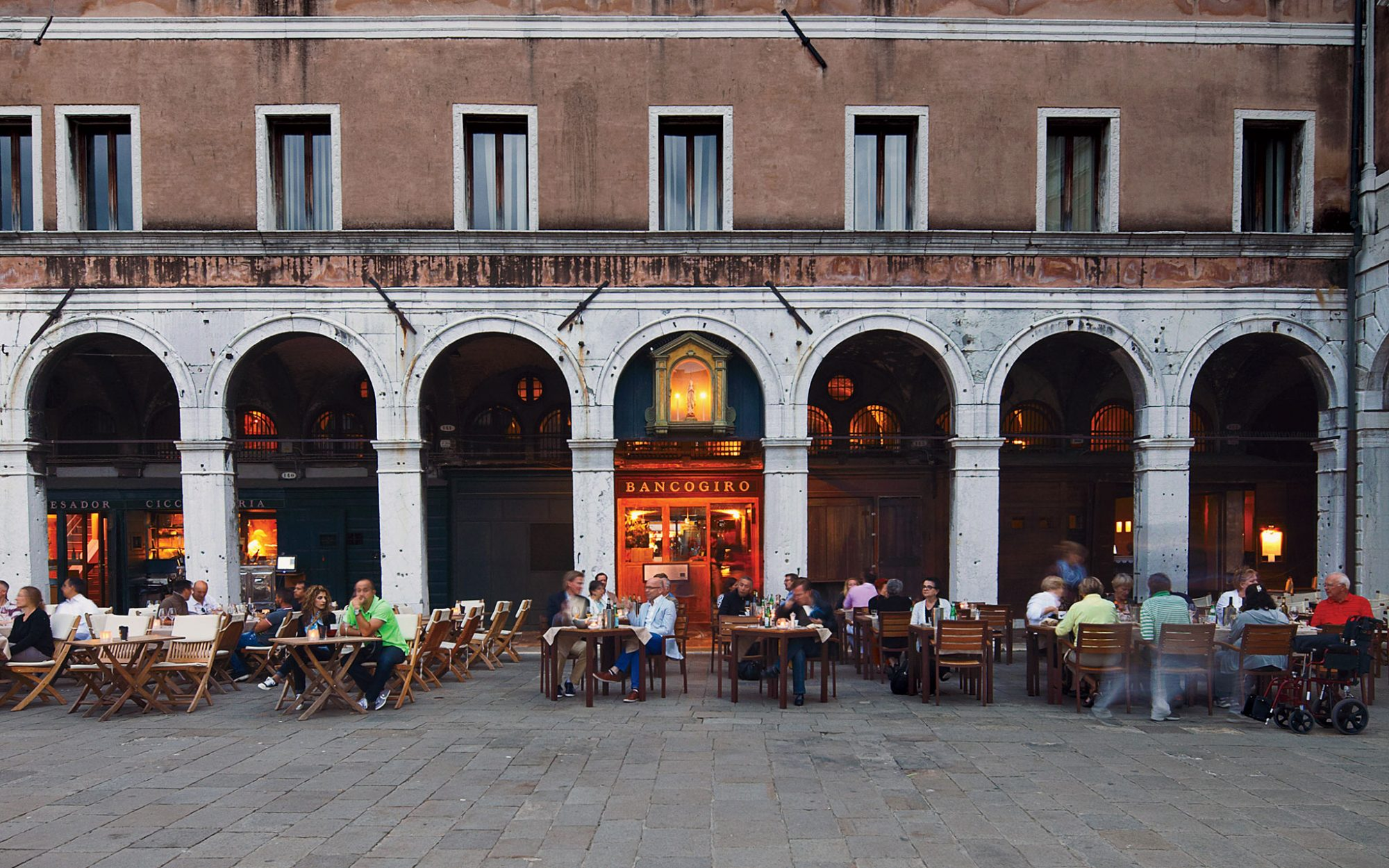 Restaurants with a View: Osteria Bancogiro