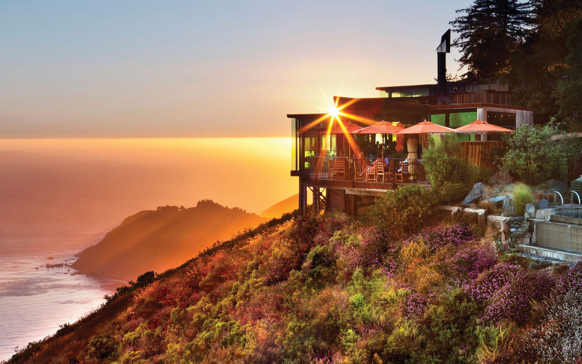 World's Most Amazing Restaurants With a View: Sierra Mar