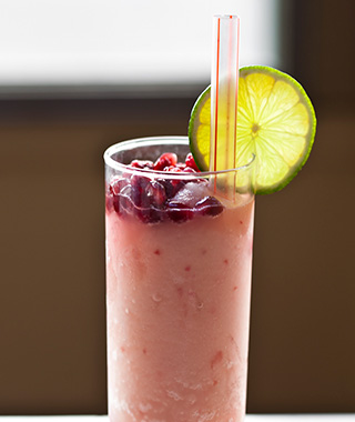 America's Best Margaritas: Pomegranate and Sloe Gin Frozen Margarita at Pastry War