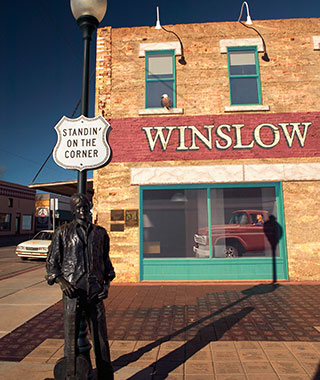 America's Coolest Desert Towns: Winslow, Arizona