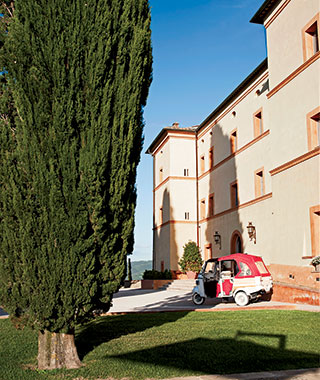 Best New Small Hotels in Italy: Castello di Casole-A Timbers Resort