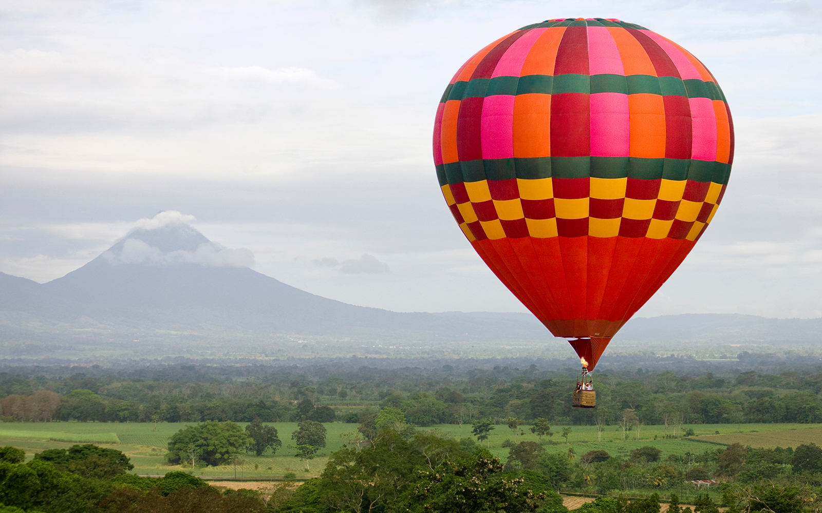 Best Hot-Air Balloon Rides: Muelle, Costa Rica