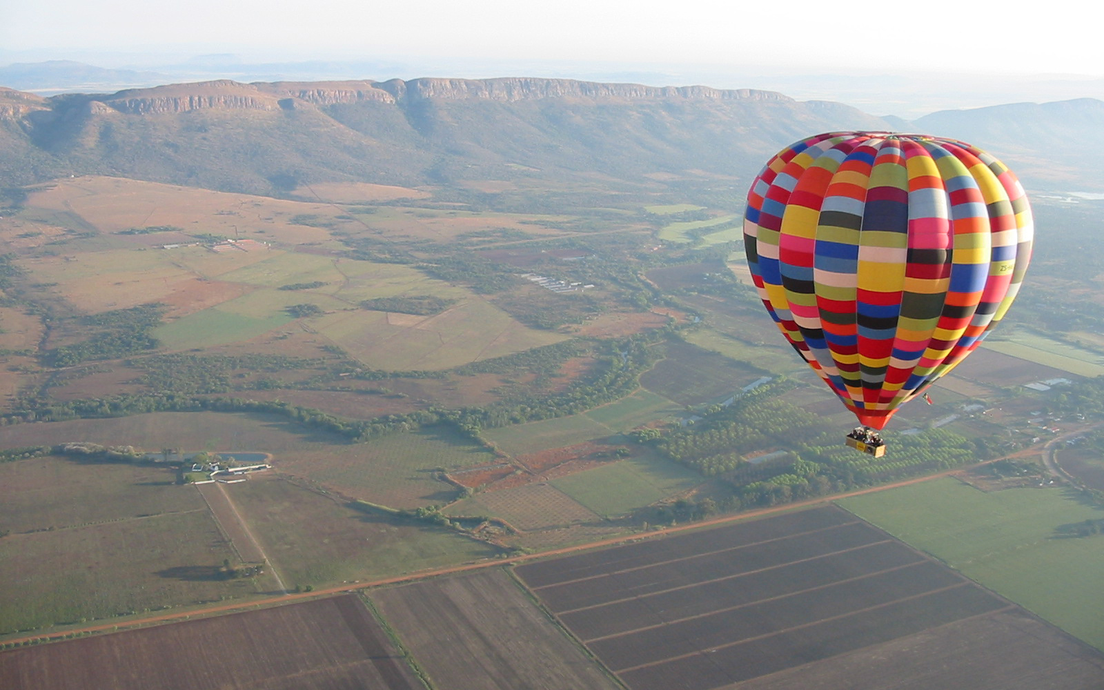 Best Hot-Air Balloon Rides: Magalies River Valley, South Africa