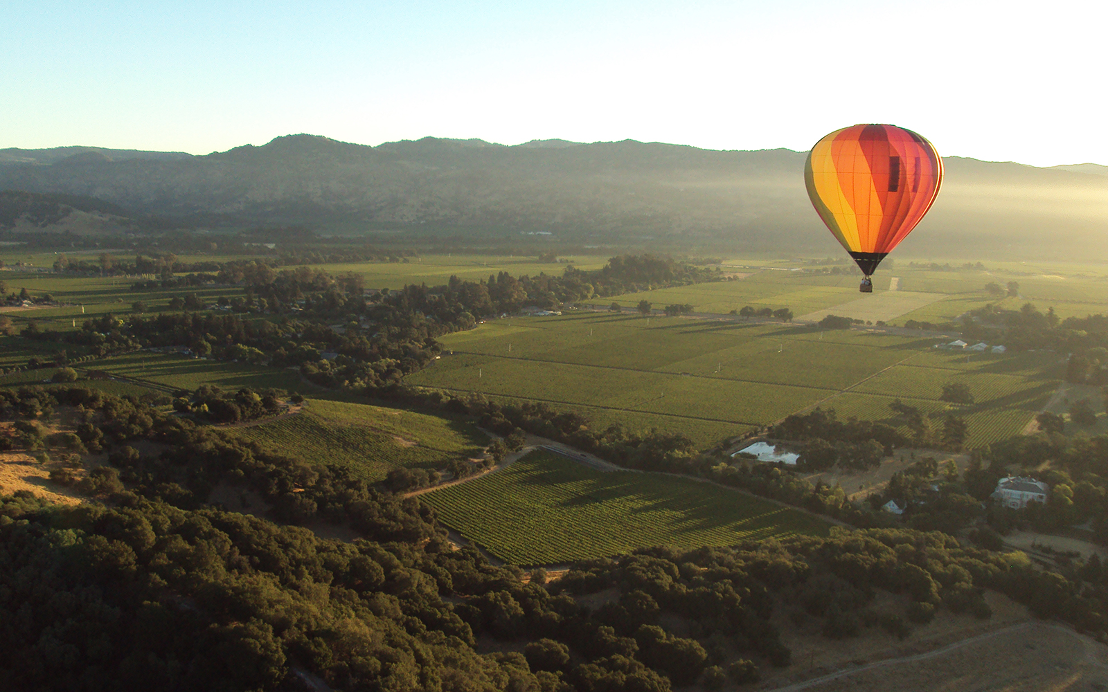 Best Hot-Air Balloon Rides: Napa Valley