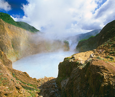 World's Strangest Lakes: Boiling Lake, Dominica