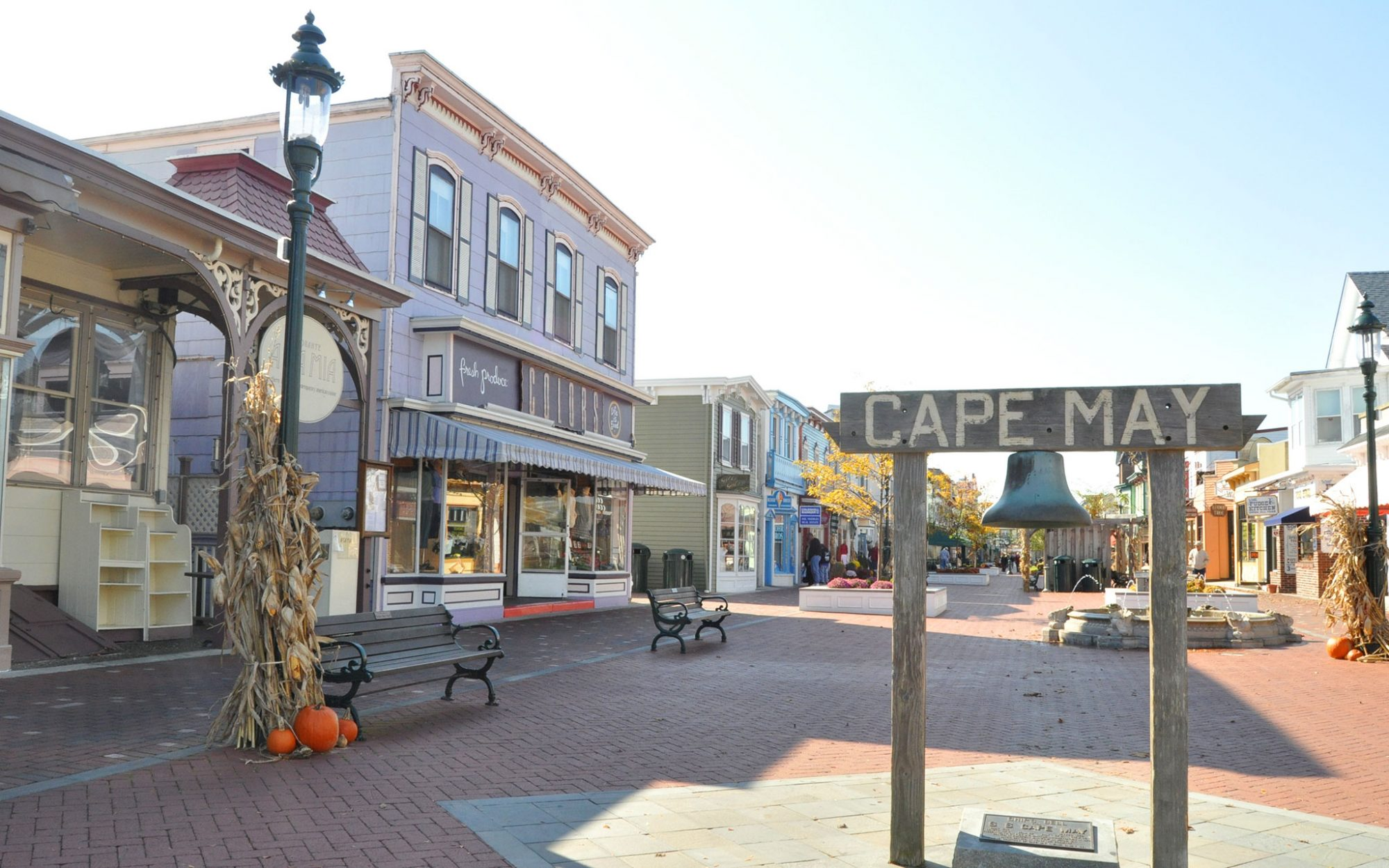 America's Best Towns for Fall Colors: Cape May, NJ