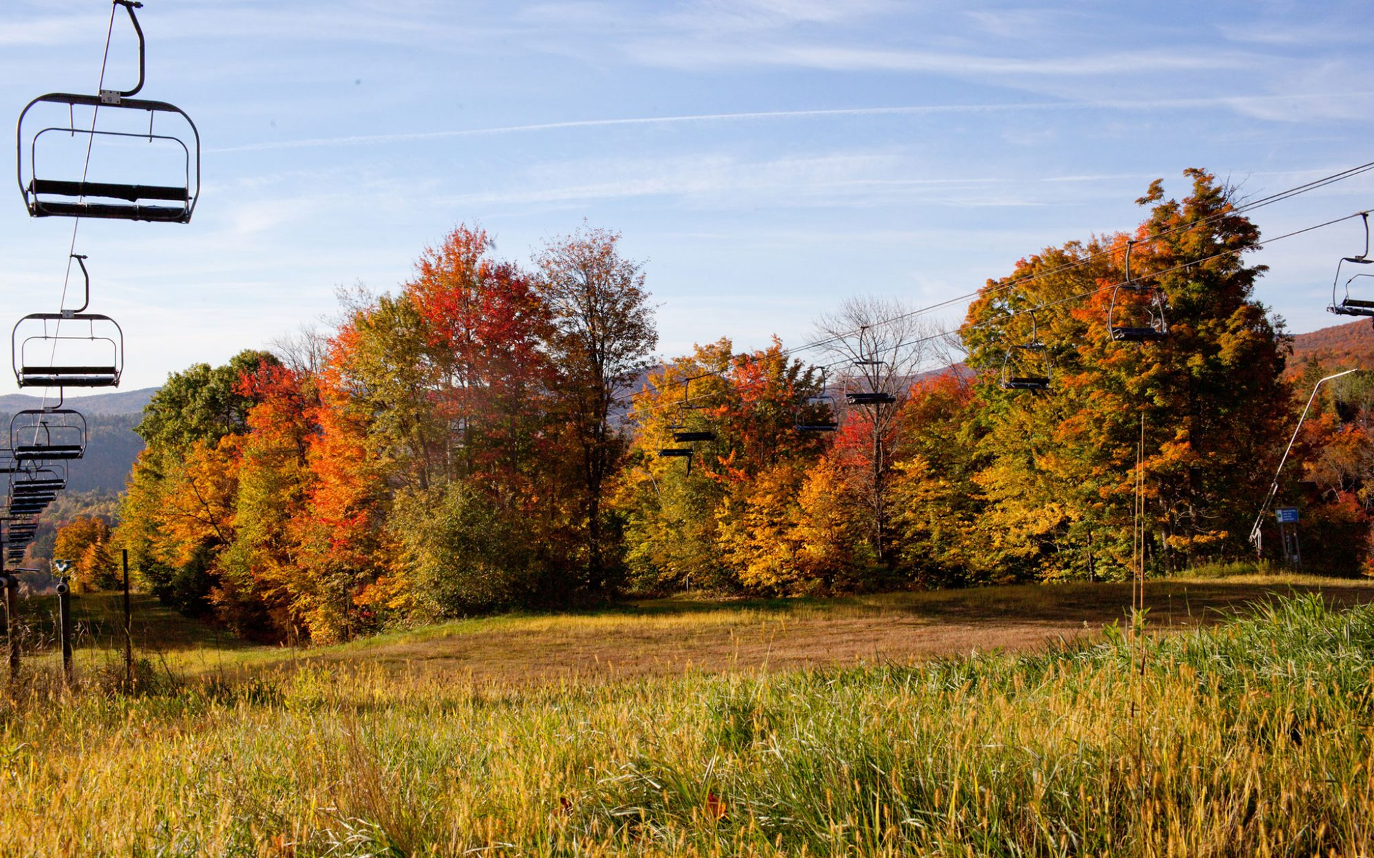 America's Best Towns for Fall Colors: Ludlow, VT