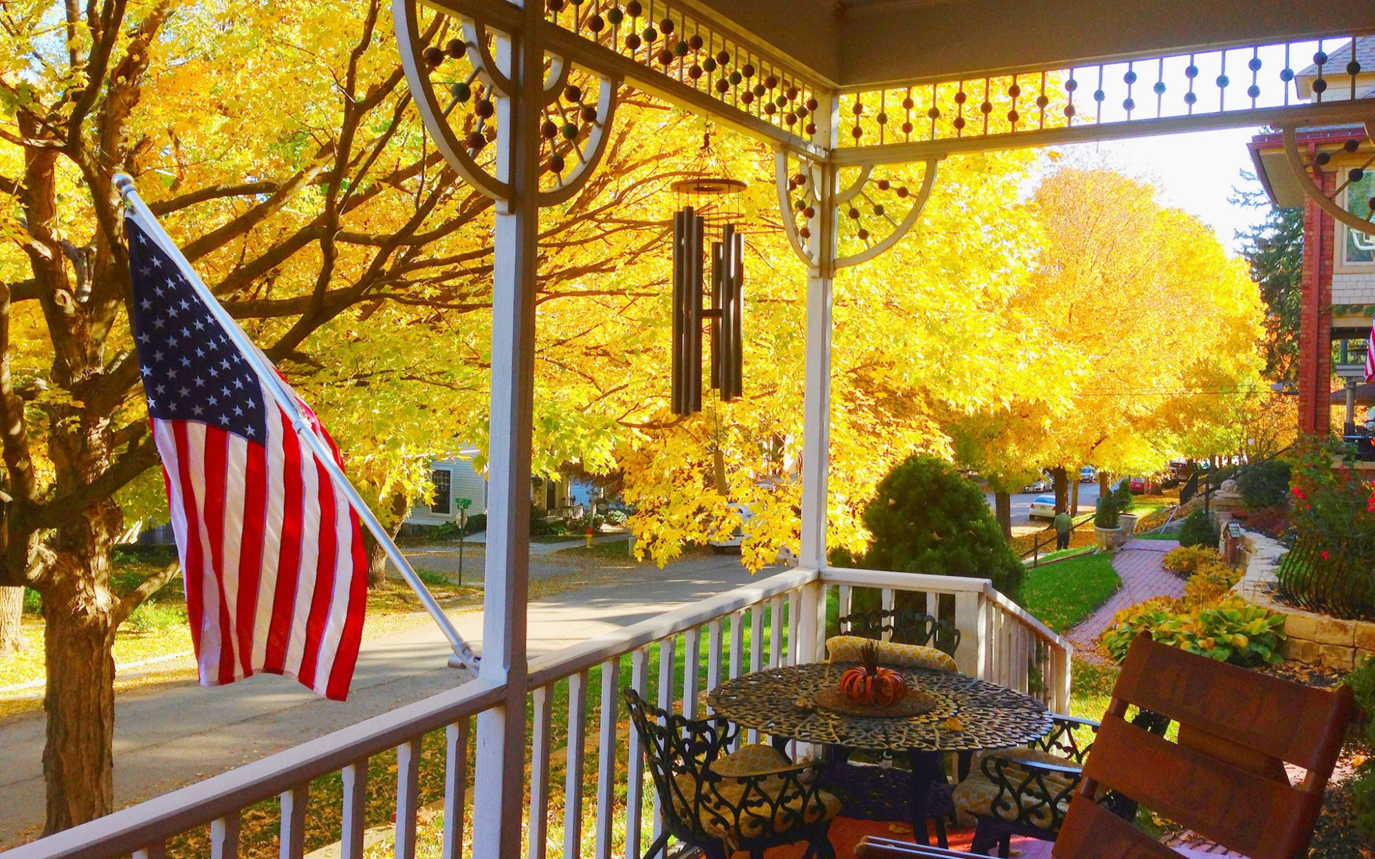 America's Best Towns for Fall Colors: Parkville, MO