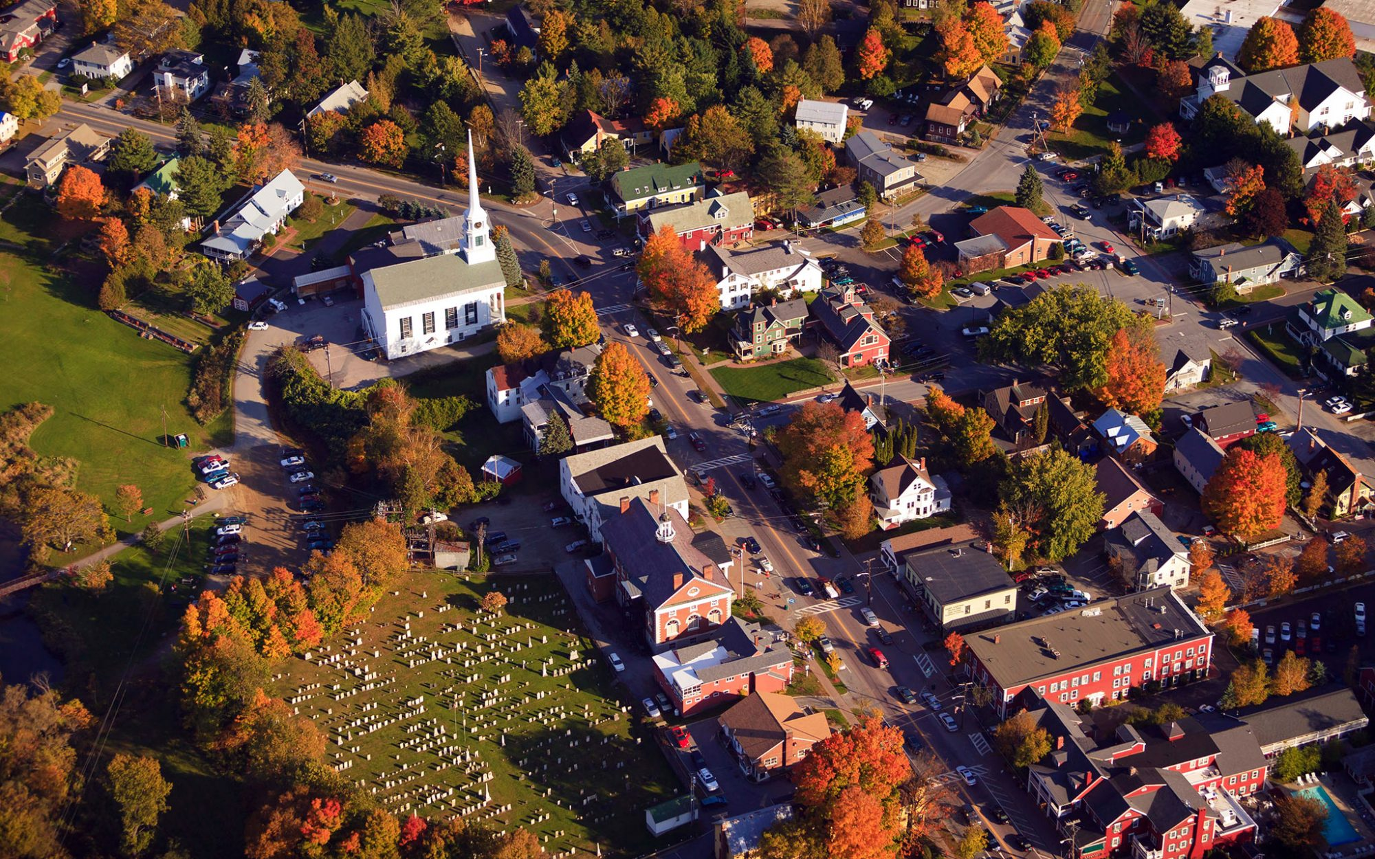 America's Best Towns for Fall Colors: Stowe, VT