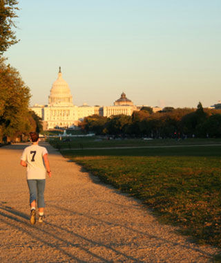 Best Urban Running Trails: The Mall and Monuments Route, Washington D.C.