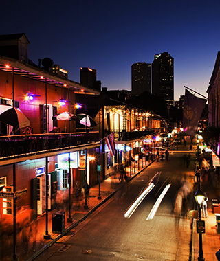 America's Best Cities for Night Owls: New Orleans