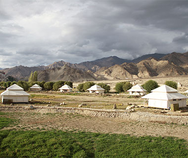 Camping in Style: India