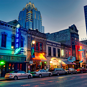Nightlife in Austin, Texas