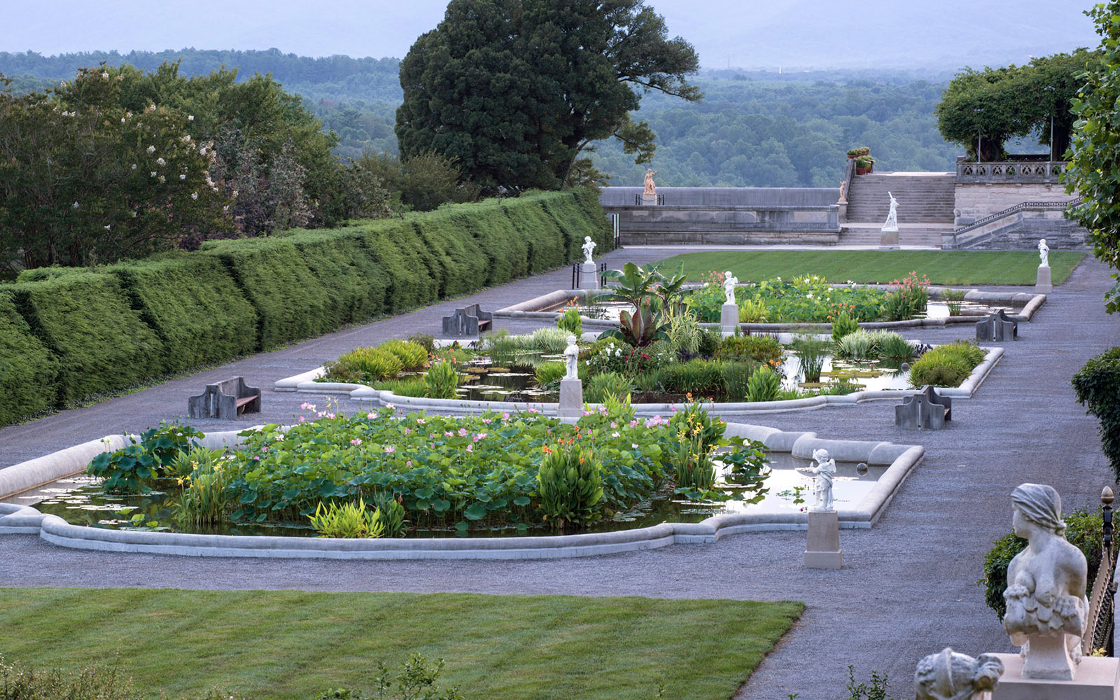 America's Most Beautiful Gardens: Biltmore, Asheville, NC