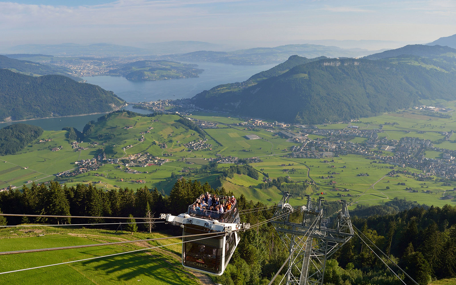 World's Coolest Tram Rides: Stanserhorn CabriO, Stans, Switzerland
