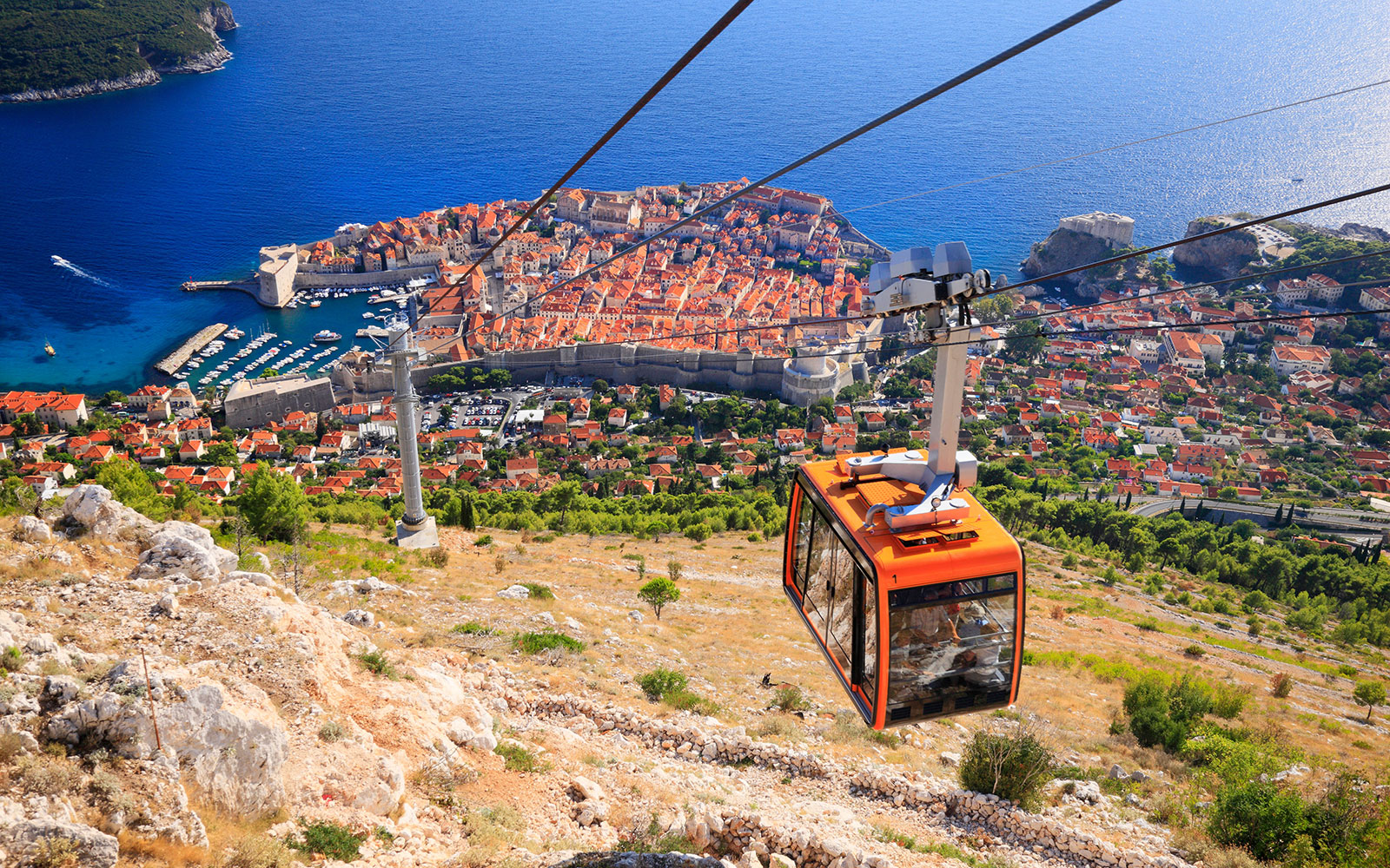 World's Coolest Tram Rides: Dubrovnik Cable Car